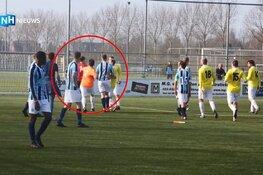 Bruut geweld op Hoofddorps voetbalveld: slachtoffer weer thuis, verdachte mogelijk geroyeerd