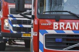 Grote brand op industrieterrein in Vijfhuizen onder controle
