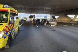 Ongeval op de A4 bij Hoofddorp