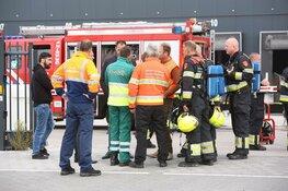 Pallet met batterijen in brand bij bedrijf Rozenburg
