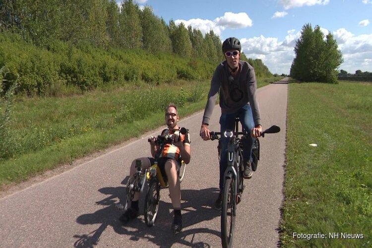 """E-bike krijgt Noord-Hollandse forens op de fiets: """"Genieten van het landschap"""""""
