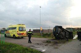 Auto gecrasht in Aalsmeer
