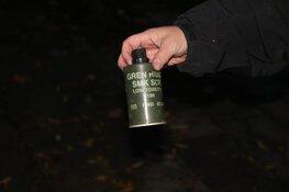 Vrienden vinden rookgranaat in Aalsmeer