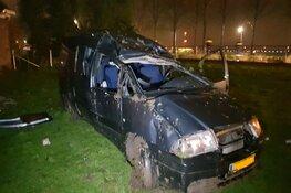 Spontane hagel: auto's crashen in Lijnden