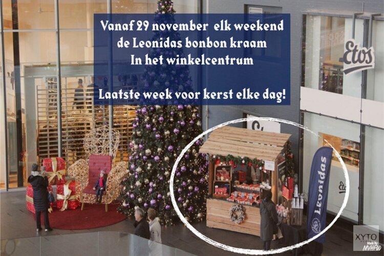 Leonidas shop-in-shop bij Multivlaai Hoofddorp