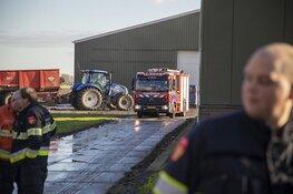 Brand in loods aan de IJweg in Hoofddorp