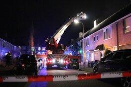 Brand in schoorsteen woning Uithoorn