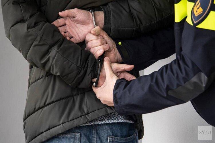 Vijf mannen aangehouden na woninginbraak