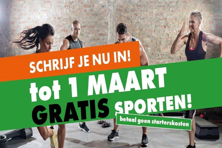 Sport tot 1 maart gratis bij Sportcentrum Nieuw-Vennep!