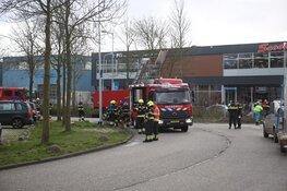 Grote brand in bedrijfspand Hoofddorp