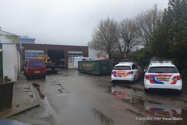 Politie volgt gps en stuit op loods vol gestolen auto's en motorblokken