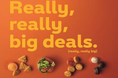 Subway speelt creatief in op laatste foodtrend