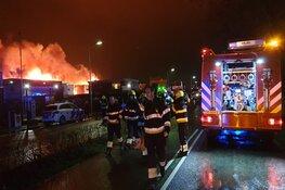 Uitslaande brand in loods Boesingheliede