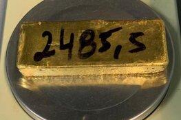 Braziliaan met vijftien kilo goud aangehouden op Schiphol