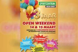 Open weekend bij Sportcentrum Nieuw-Vennep
