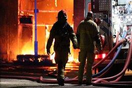 Grote brand aan Zwarteweg Aalsmeer