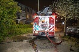 Veel rookontwikkeling bij schuurbrand Willemsbos Hoofddorp