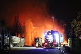 Grote brand zorgde dit weekend voor angstige momenten in Aalsmeer