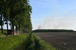 Bermbrand bij Weteringsbrug