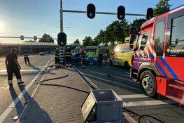 Gewonde bij ongeluk op N201