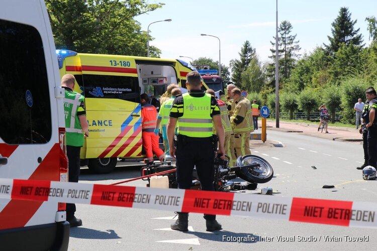 74-jarige motorrijder overleden na ongeluk in Aalsmeer