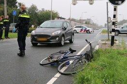 Fietser gewond na ongeval Aalsmeer