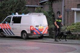 Man na waarschuwingsschot en inzet politiehond aangehouden