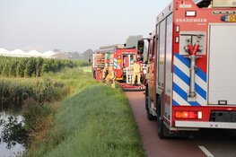 Brand in kas De Kwakel