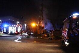 Veel vlammen bij brand in bedrijfsverzamelgebouw Aalsmeer