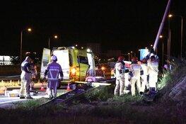 Zwaargewonde bij ernstig ongeval N201 Aalsmeer
