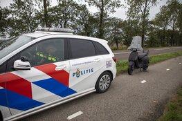 Scooter aangetroffen in sloot langs de Schipholweg in Lijnden