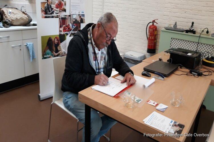 Heropening van het Financieel Café in Overbos