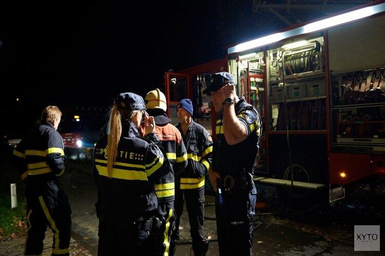 Voertuigbrand in Nieuw-Vennep