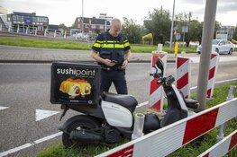 Maaltijdbezorger gewond bij ongeval in Zwanenburg