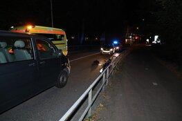 Bestuurder snorbrommer naar ziekenhuis na valpartij in Uithoorn