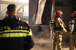 Brand in opslagloods De Kwakel