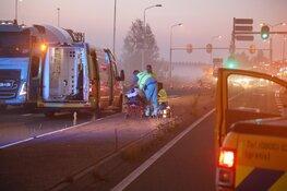 Ongeval N201 Amstelveen, motorrijder gewond