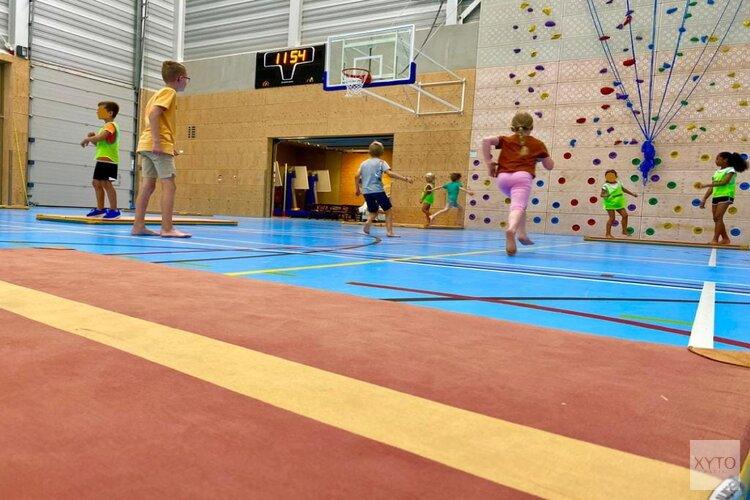 Lekker sporten in de SKH-SportBSO in het SKWA (Sportcomplex Koning Willem-Alexander)