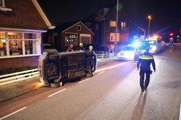 Automobilist aangehouden na eenzijdig ongeluk