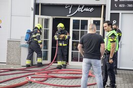 Ruim 350 hennepplanten ontdekt bij brand in bedrijfspand in Hoofddorp