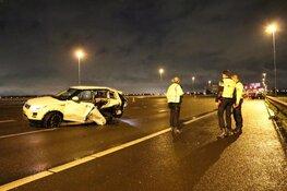 Ongeval met drie auto's op A9 bij Boesingheliede: twee gewonden