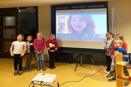 Bso Wervelwind wint virtuele meet & greet met Kim-Lian van der Meij in SOS Heldenchallenge