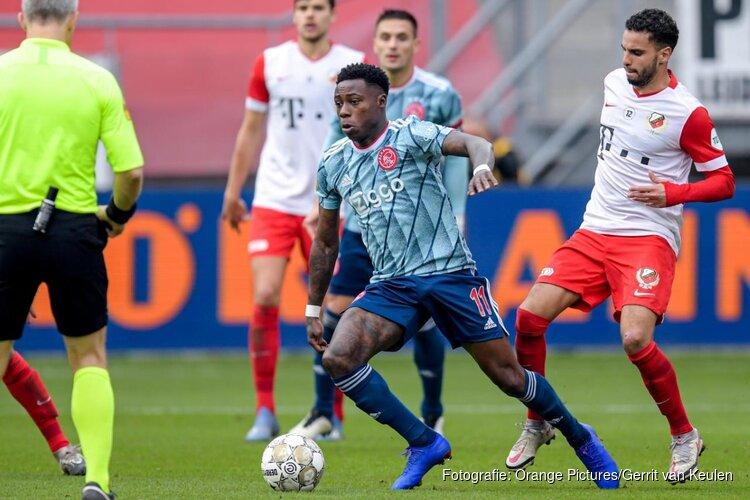 Ajax probleemloos langs FC Utrecht