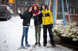 Sneeuwpret in Aalsmeer